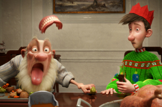 Free Arthur Christmas Picture for Android, iPhone and iPad