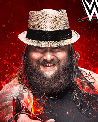 WWE 2K15 Bray Wyatt Wallpaper for iPhone 3G