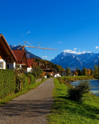 Free Oberau Germany Picture for 240x320