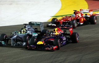 Singapore Grand Prix - Formula 1 Picture for Android, iPhone and iPad