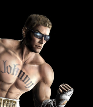 Johnny Cage form Mortal Kombat Wallpaper for 240x400