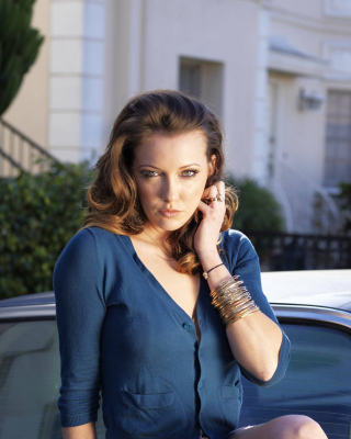 Katie Cassidy for Magazine sfondi gratuiti per iPhone 5