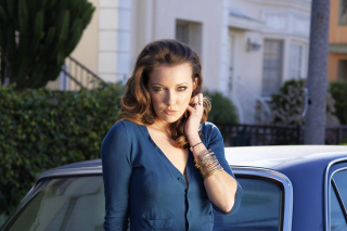 Free Katie Cassidy for Magazine Picture for Android, iPhone and iPad