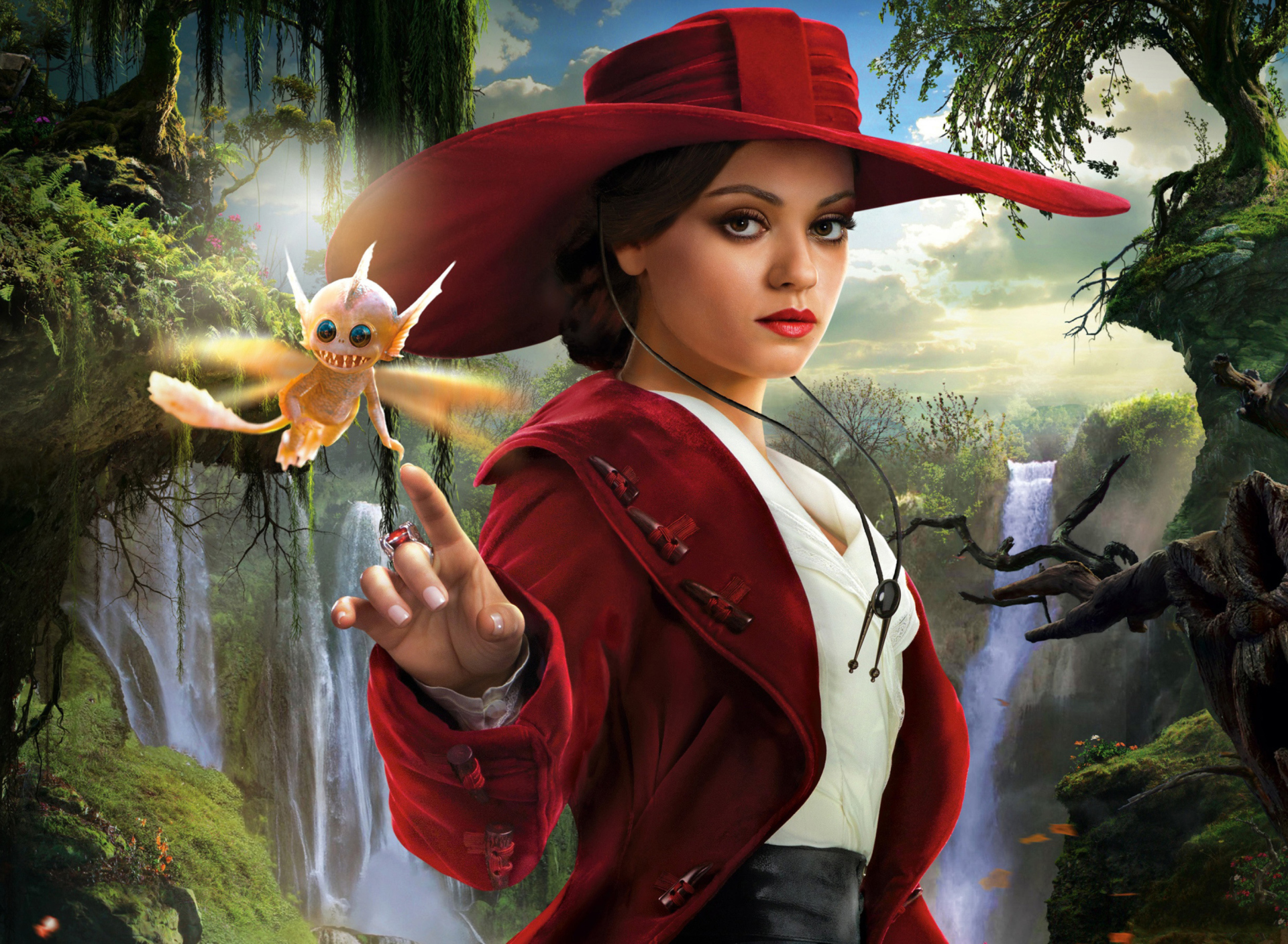 Screenshot №1 pro téma Mila Kunis In Oz The Great And Powerful 1920x1408