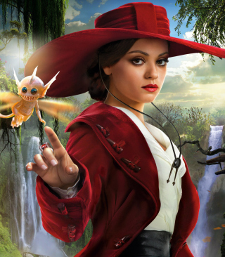 Mila Kunis In Oz The Great And Powerful - Obrázkek zdarma pro 320x480