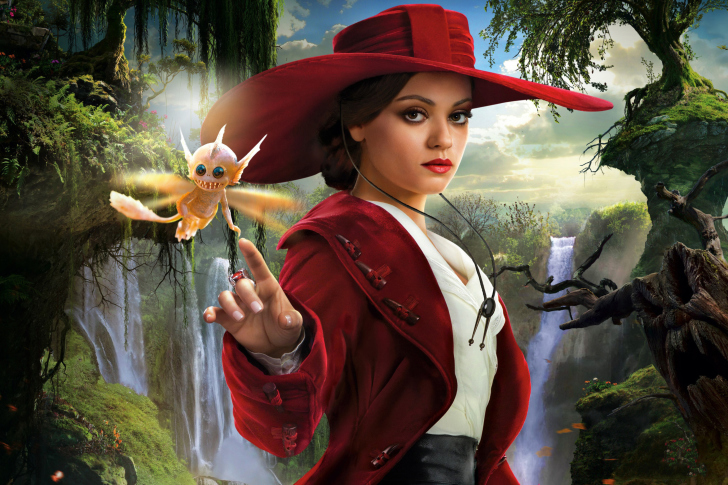 Screenshot №1 pro téma Mila Kunis In Oz The Great And Powerful