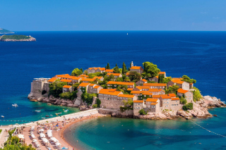 Sveti Stefan, Montenegro Picture for Android, iPhone and iPad