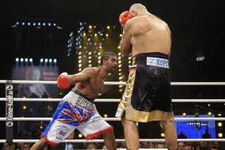 Valuev vs Haye Background for Android, iPhone and iPad