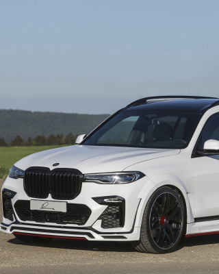 BMW X7 Lumma CLR Wallpaper for 240x320