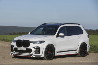 BMW X7 Lumma CLR Wallpaper for Samsung Galaxy S6 Active