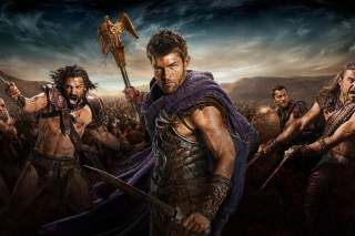 Free Spartacus star Liam McIntyre Picture for Android, iPhone and iPad