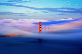 San Francisco Golden Gate Background for Android, iPhone and iPad
