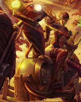 Free Blood Elf World of Warcraft Picture for iPhone 6 Plus