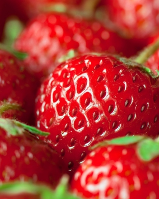 Fresh And Juicy Strawberry - Obrázkek zdarma pro 320x480