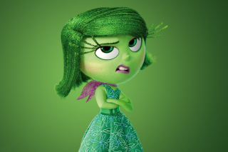 Disgust from Inside Out Cartoon papel de parede para celular