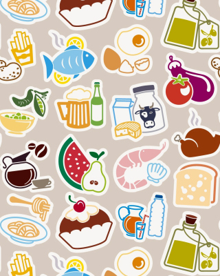 Food Texture Background for HTC Titan