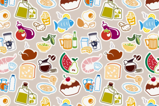 Food Texture Background for Android, iPhone and iPad