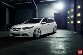 Honda Accord Wagon Tuning Wallpaper for Android 480x800