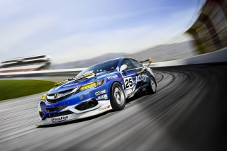 Acura ILX Endurance Racer Wallpaper for Android, iPhone and iPad
