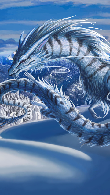 Screenshot №1 pro téma Winter Dragon 360x640