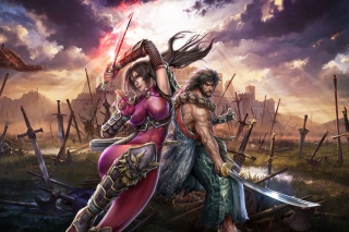 Kostenloses Soul Calibur Lost Swords Game Wallpaper für Android, iPhone und iPad