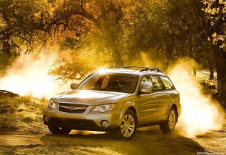 Subaru Outback Sunfire Wallpaper for Android, iPhone and iPad