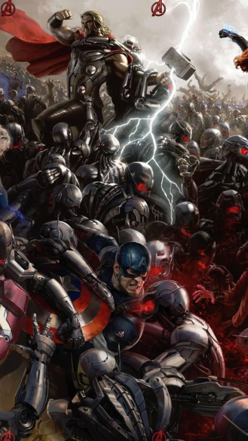 Avengers: Age of Ultron for Nokia N8