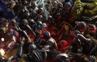 Avengers: Age of Ultron sfondi gratuiti per cellulari Android, iPhone, iPad e desktop