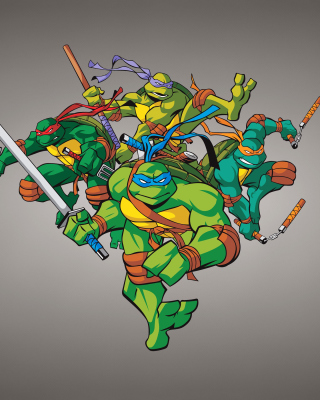TMNT sfondi gratuiti per iPhone 6 Plus