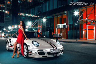 Kostenloses Need For Speed Most Wanted - Porsche 911 Wallpaper für LG P700 Optimus L7