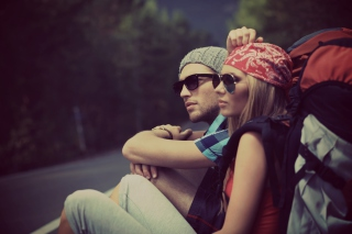Free Fashion Couple Picture for Android, iPhone and iPad