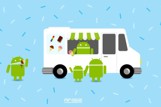 Android Ice Cream Sandwich Background for Android, iPhone and iPad