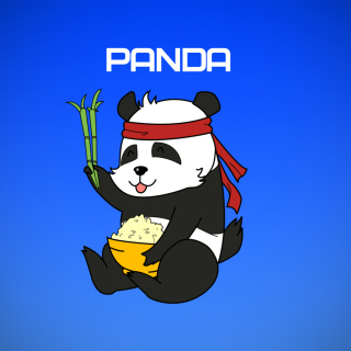 Cool Panda Illustration sfondi gratuiti per iPad 3