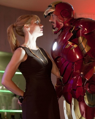 Iron Man Film Wallpaper for Nokia Asha 305