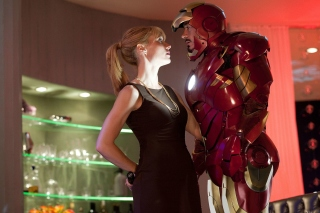 Iron Man Film Picture for 1024x600