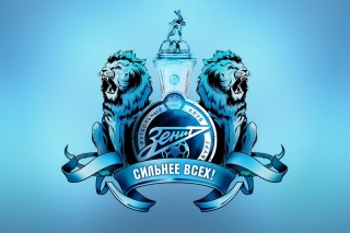 FC Zenit Saint Petersburg Background for Android, iPhone and iPad