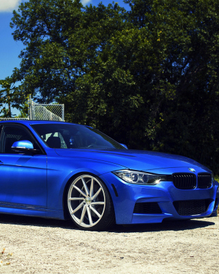 BMW F30 335i M Sport with Vossen CVT Wallpaper for Nokia Asha 311
