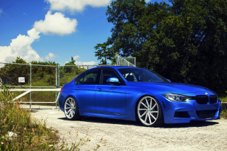 BMW F30 335i M Sport with Vossen CVT Background for Android, iPhone and iPad