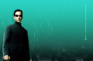 Thomas Anderson Neo in Matrix Background for Android, iPhone and iPad