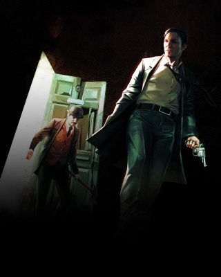 Sherlock Holmes Crimes and Punishments Game Background for Nokia Asha 306