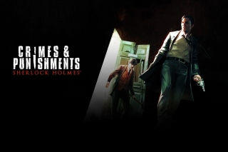 Sherlock Holmes Crimes and Punishments Game Background for 1400x1050