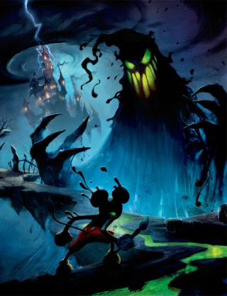 Epic Mickey Background for Nokia C5-06