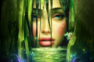 Lake Fairy Picture for Android, iPhone and iPad