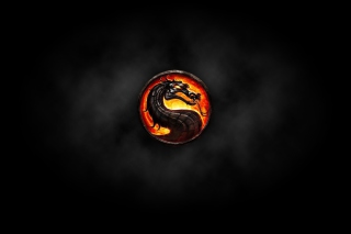 Free Mortal Kombat Logo Picture for 1200x1024