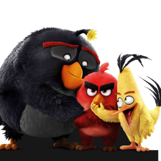 Обои Angry Birds the Movie 2016 для телефона и на рабочий стол iPad mini 2