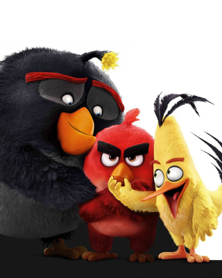 Angry Birds the Movie 2016 - Obrázkek zdarma pro iPhone 5S