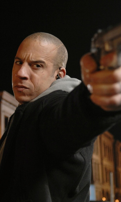Screenshot №1 pro téma Vin Diesel in Fast & Furious 480x800