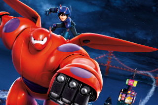 Big Hero 6 Wallpaper for Android, iPhone and iPad
