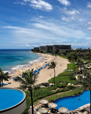 Hawaii Boutique Luxury Hotel with Spa and Pool - Fondos de pantalla gratis para Sharp 880SH