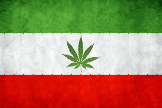 Free Iran Weeds Flag Picture for Android, iPhone and iPad